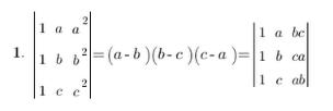 Properties of Determinants - Matrices and Determinants, Business Mathematics & Statistics B Com Notes   EduRev