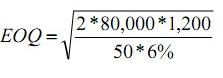 Economic Ordering Quantity & ABC Analysis - Material Cost, Cost Accounting B Com Notes   EduRev