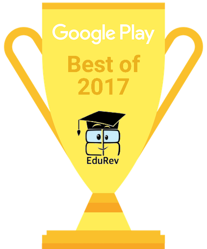 Tech Giant Google awards EduRev as the Best App of 2017 Personal Learning Notes | EduRev