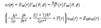 Motion of a Particle in a Central Potential - General Formalism of Wave Mechanics, Quantum Mechanics Physics Notes | EduRev