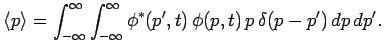 Wave Function Representation in Momentum Space - Quantum Mechanics, CSIR-NET Physical Sciences Physics Notes | EduRev