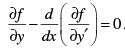 Examples : Euler-Lagrange Equation (Part - 1) - Classical Mechanics, CSIR-NET Physical Sciences Physics Notes | EduRev