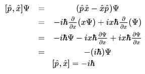 Operators and Commutators - General Formalism of Wave