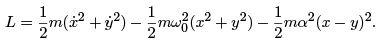 Small Oscillations and Normal Modes - Lagrangian and Hamiltonian Equations, Classical Mechanics, CSI Physics Notes | EduRev
