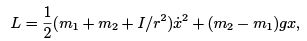 Lagrangian and Hamiltonian Formalism and Equations of Motion (Part - 1) - CSIR-NET Physical Sciences Physics Notes | EduRev