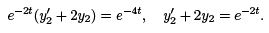 Linear Ordinary Differential Equations of First and Second Order (Part - 5), UGC - NET Physics Physics Notes   EduRev