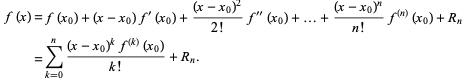 Taylor`s and Laurent Series Physics Notes | EduRev