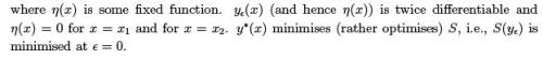 Variational Principle : Euler-Lagrange Equation and its Applications (Part -1) - Classical Mechanics Physics Notes | EduRev