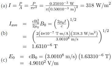 Energy in Electromagnetic Waves Physics Notes | EduRev