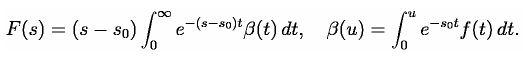 Laplace Transform (Part - 1) - Mathematical Methods of Physics, UGC - NET Physics Physics Notes | EduRev
