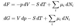 Free Energy and its Connection with Thermodynamic Quantities - CSIR-NET Physical Sciences Physics Notes | EduRev