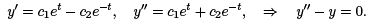 Linear Ordinary Differential Equations of First and Second Order (Part - 4), UGC - NET Physics Physics Notes   EduRev