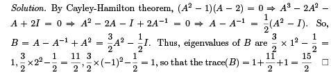 Questions:Linear Algebra and Matrices - Mathematical Methods of Physics, UGC - NET Physics Physics Notes | EduRev