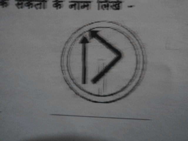 Can anybody please send me the names of these road signs in hindi CBSE/Schools Notes | EduRev