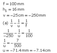 Solutions of Refraction of Light (Page No- 248) - Physics By Lakhmir Singh, Class 10 Class 10 Notes | EduRev
