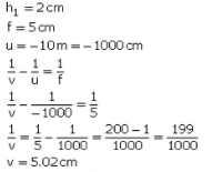 Solutions of Refraction of Light (Page No- 247) - Physics By Lakhmir Singh, Class 10 Class 10 Notes | EduRev