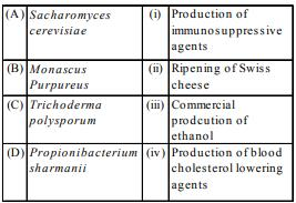Microbes in Human Welfare 1 - From Past 28 Years Questions NEET Notes | EduRev
