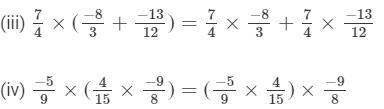 RD Sharma Solutions - Chapter 1 - Rational Numbers (Ex -1. 6), Class 8, Maths Class 8 Notes | EduRev