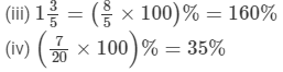 RD Sharma Solutions - Ex-11.1,Percentage, Class 7, Math Class 7 Notes   EduRev