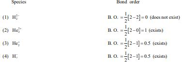 Previous year Questions (2016-20) - Chemical Bonding and Molecular Structure Notes | EduRev
