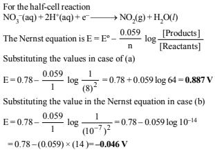 Subjective Questions of Electrochemistry, Past year Questions (Part - 2) - JEE Advance, Class 12 JEE Notes | EduRev