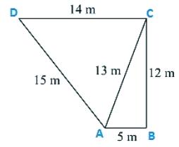 RD Sharma Solutions Ex-12.2, (Part -1), Heron`s Formula, Class 9, Maths Class 9 Notes   EduRev