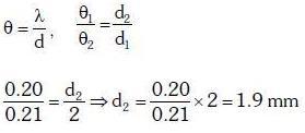 Previous Year Questions (2014-20) - Wave Optics Class 12 Notes   EduRev