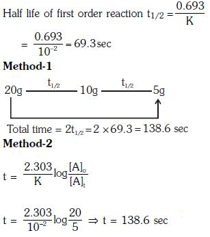 Previous Year Questions (2014-19) - Chemical Kinetics Notes | EduRev