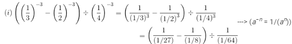 RD Sharma Solutions - Chapter 2 - Powers (Ex-2.2) Part - 1, Class 8 Math Class 8 Notes | EduRev