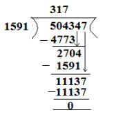 RD Sharma Solutions -Ex-4.4, Operations On Whole Numbers, Class 6, Maths Class 6 Notes | EduRev