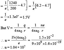 Integer Value Correct Type of Modern Physics, Past year Questions JEE Advance, Class 12, Physics JEE Notes | EduRev
