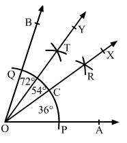 RD Sharma Solutions -Ex-19.5, Geometrical Constructions, Class 6, Maths Class 6 Notes | EduRev