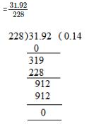 RD Sharma Solutions - Ex-3.3, Decimals, Class 7, Math Class 7 Notes | EduRev