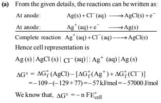 Subjective Questions of Electrochemistry, Past year Questions (Part - 3) - JEE Advance, Class 12 JEE Notes | EduRev