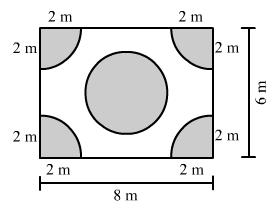 RD Sharma Solutions (Part - 2) - Ex-21.2, Mensuration - II Area of Circle, Class 7, Math Class 7 Notes | EduRev