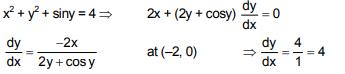 Previous year Questions (2016-20) - Differentiation Notes   EduRev