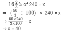 RD Sharma Solutions - Ex-11.6, Percentage, Class 7, Math Class 7 Notes | EduRev