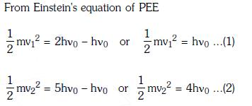 Previous Year Questions (2014-20) - Dual Nature of Radiation and Matter Class 12 Notes | EduRev