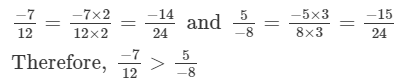 RD Sharma Solutions - Ex - 4.6, Rational Numbers, Class 7, Math Class 7 Notes | EduRev