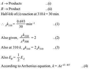 Subjective Type Questions: Chemical Kinetics & Nuclear Chemistry- 1   JEE Advanced Notes   EduRev