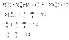 RD Sharma Solutions Ex-6.4, (Part -1), Factorization Of Polynomials, Class 9, Maths Class 9 Notes | EduRev