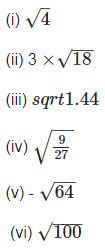 RD Sharma Solutions Ex-1.4, Number System, Class 9, Maths Class 9 Notes | EduRev