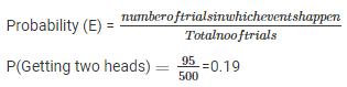 RD Sharma Solutions Ex-25.1, (Part - 1), Probability, Class 9, Maths Class 9 Notes | EduRev