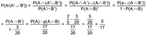 Previous year Questions (2016-20) - Probability Notes | EduRev