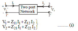 Chapter 7 (Part 1) Two Port network - Notes, Circuit Theory, Electrical Engineering Electrical Engineering (EE) Notes | EduRev