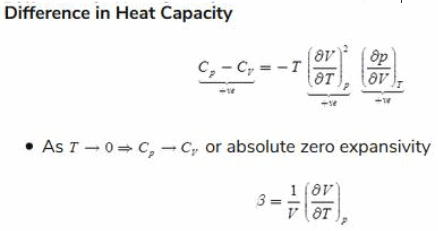 Chapter 10 Thermodynamic Relations Equilibrium And Stability - Thermodynamics, Mechanical Engineering Mechanical Engineering Notes | EduRev