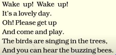 Girlfriend poem wake up for 201 Sweet