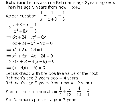 Exercise 4 3 - Quadratic Equations, Class 10, Maths Class 10