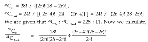 Permutation and Combinations (Part - 2) CA CPT Notes | EduRev