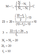 Measures of Central Tendency and Dispersion CA CPT Notes | EduRev